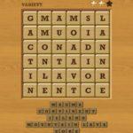 Words crush variety theme 17 level 9