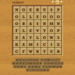Words crush variety theme 19 level 15