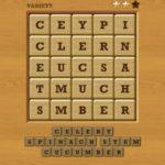 Words crush variety theme 19 level 2