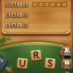 Word connect level 1156