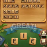 Word connect level 1205