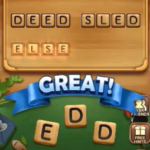 Word connect level 1596