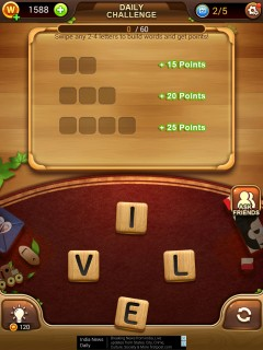 Word connect daily challenge 10 24 2017 level 2