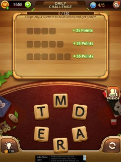 Word connect daily challenge 10 24 2017 level 4