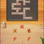 Word cookies cross peach 3