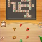 Word cookies cross peach 7