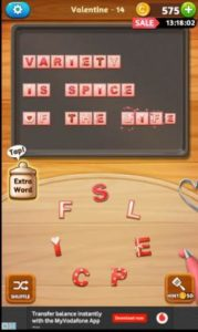 Word cookies cross valentine event answers 02 14 2018