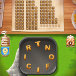 Word cookies first class chef celery 12