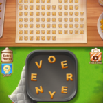 Word cookies first class chef celery 4