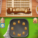 Word cookies first class chef tomato 3