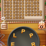 Word cookies champagne 9
